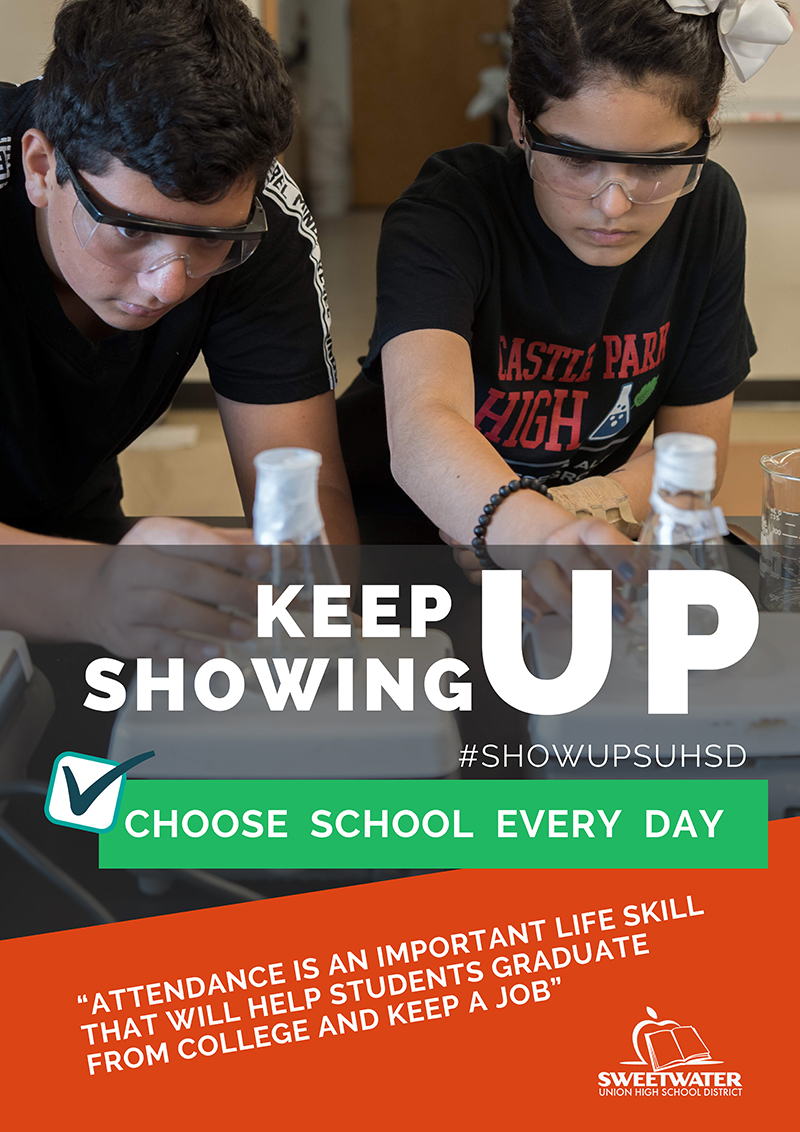 Keep Showing Up SUHSD - Choose School Every Day